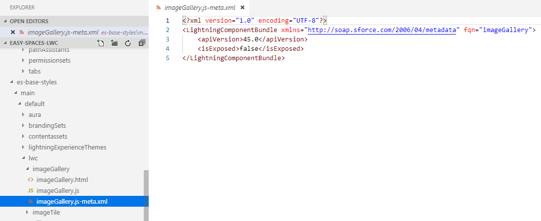 Configure a Lightning Web Component for Lightning App